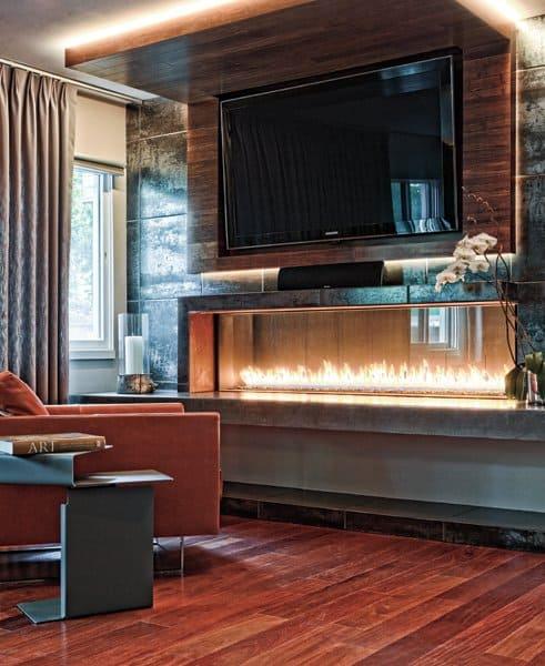 Alejandro Design Studio Fireplace